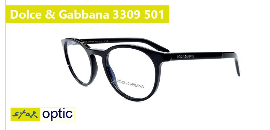 Новые очки Dolce Gabbana 3309 501 (2019)