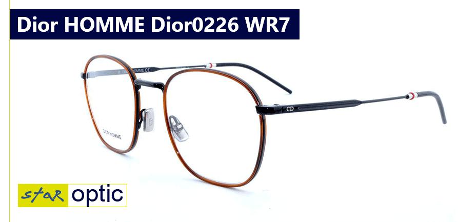 Мужская модель очков новой коллекции 2019: Dior HOMME Dior0226 WR7