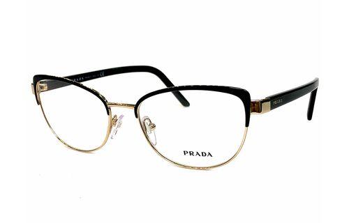Очки «золотые» «золотые» Prada 63XV AVV