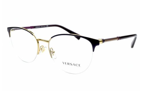Очки овальные овальные Versace 1247 1418