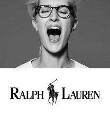 Очки Ralph Lauren Женские на модели, официальный постер
