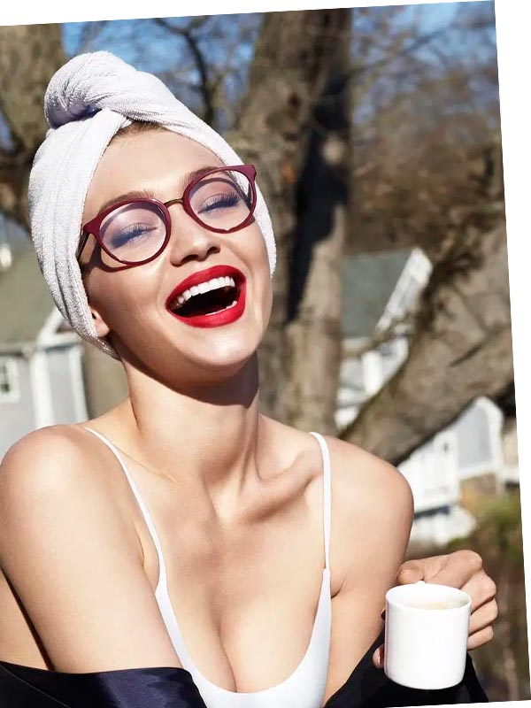 Vogue очки Gigi Hadid
