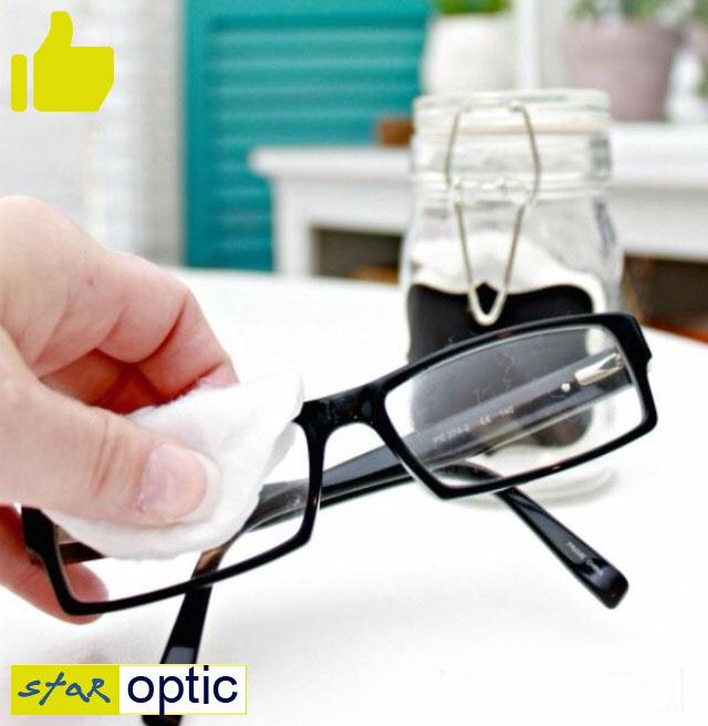 как правильно ухаживать за очками. Очистка очков с уксусом